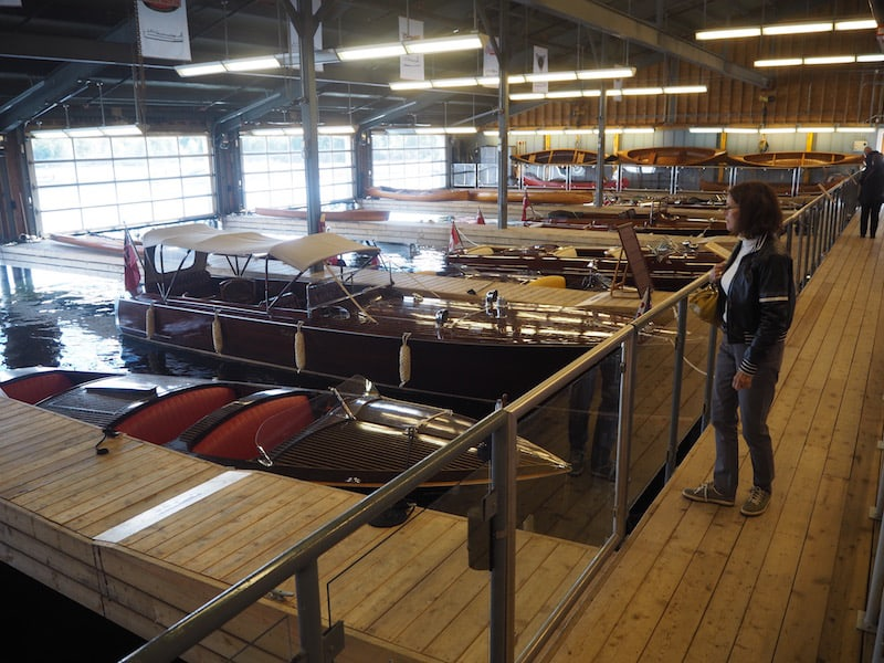 ... a splendid collection of carefully maintained old boats that warm the heart of every #boatlover out here in this part of Georgian Bay, Ontario!