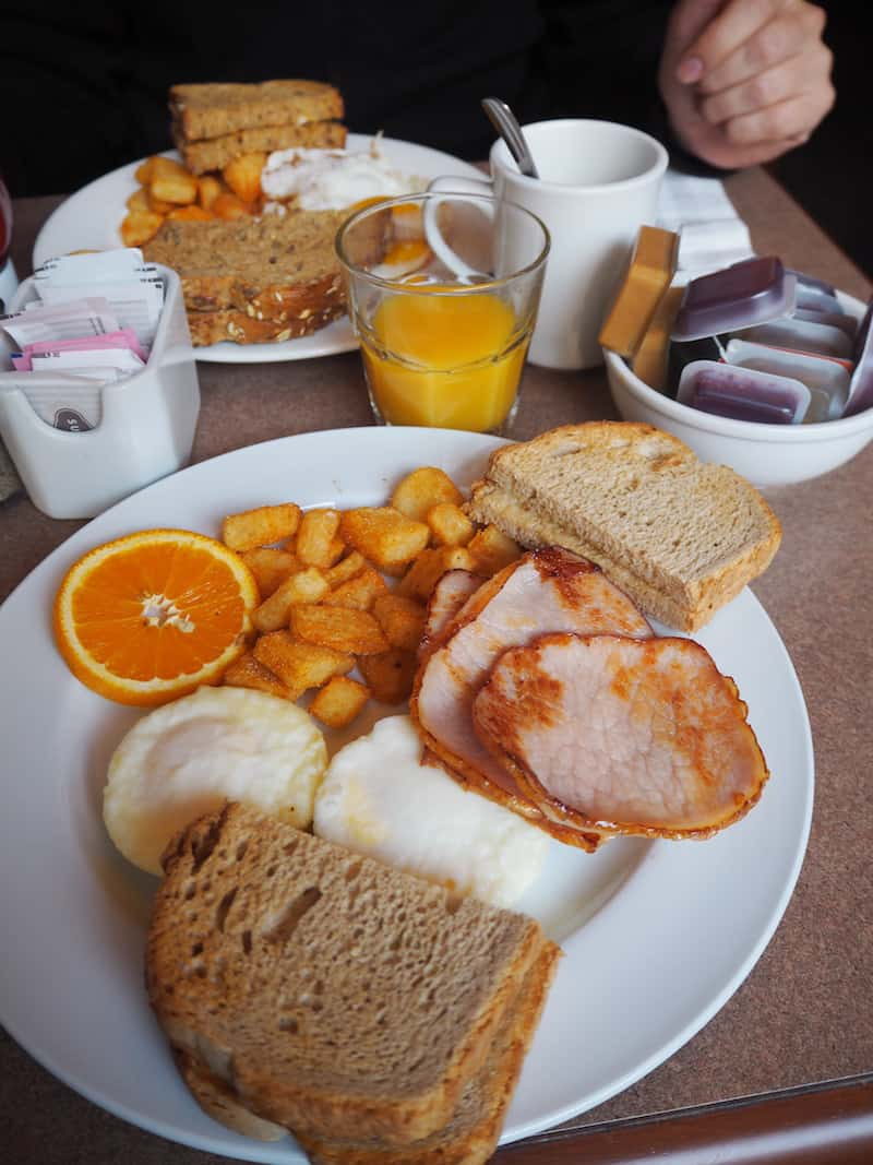 "... serves delicious ""Canadian Breakfast"", if hearty breakfast options is more your thing."