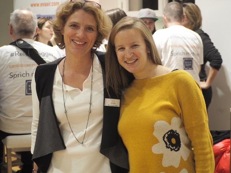 """""""Mein Reiseglück sind die Menschen ..."""" DANKE Dir, liebe Christina Neumeister-Böck sowie Team, für die tolle Organisation der Messe ReiseSalon & unseren ReiseBloggerSlam!"""