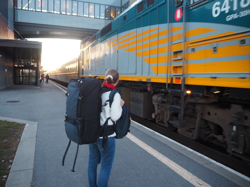 ... all of that has been my happy experience aboard the #VIARail train travels across Canada.