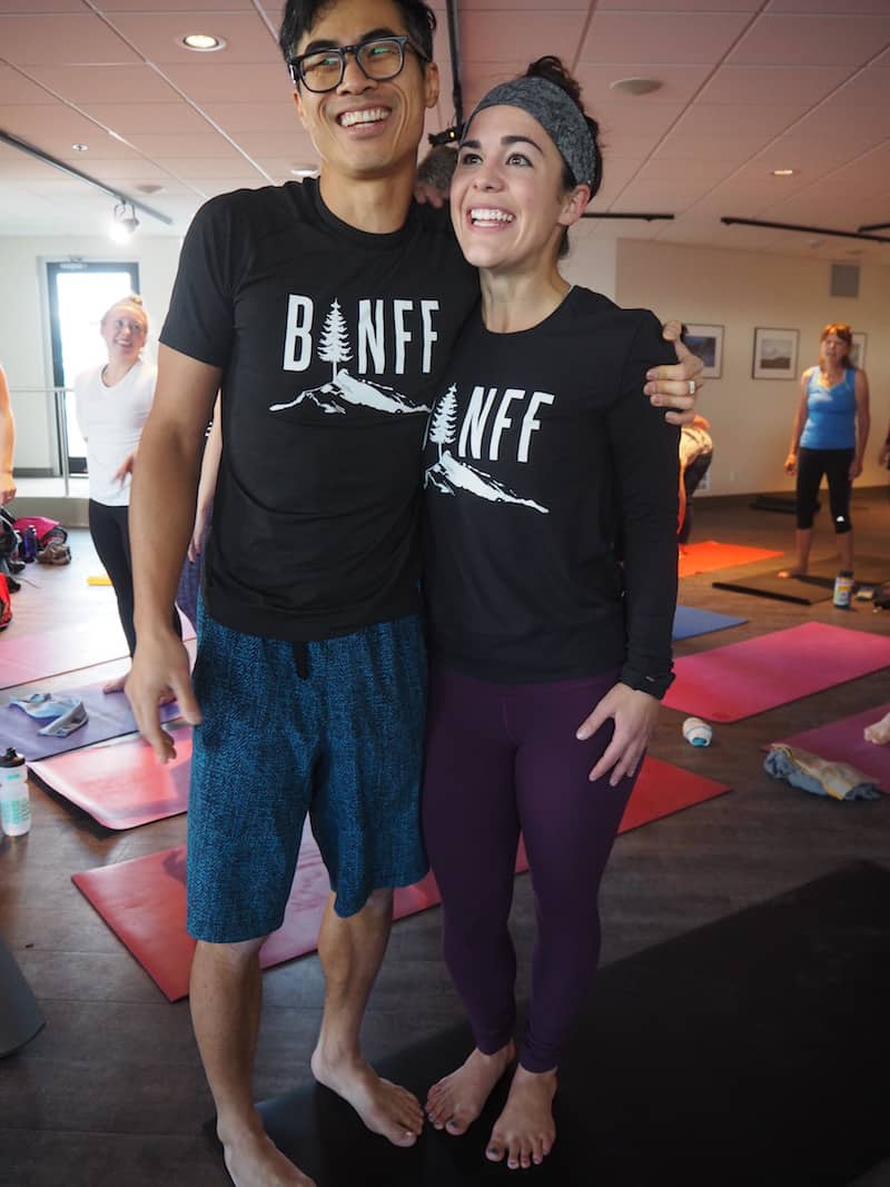 "... as well as some tremendous fun & laughter: Thank you dear Jeff, for a wonderful, heart-warming, and very much ""waking up our bodies in different ways"" Yoga class !"