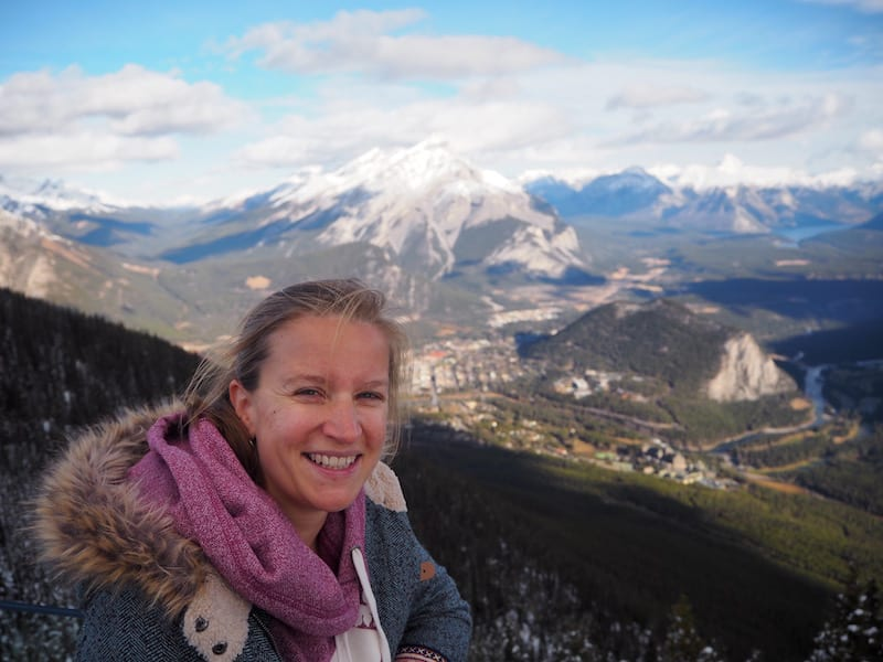 Gotta love Banff & all the beauty around : View from Mount Sulphur down onto #myBanff !