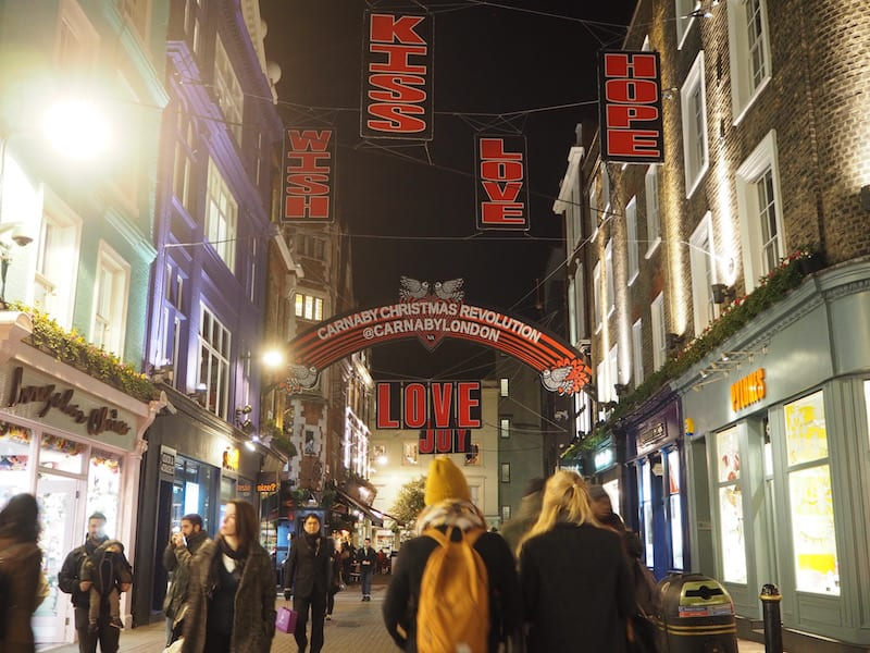... where an all-time favourite of mine is a stroll down Carnaby Street, at the heart of Bohemian Soho London. Still love the place, though it has become quite touristy over the years!