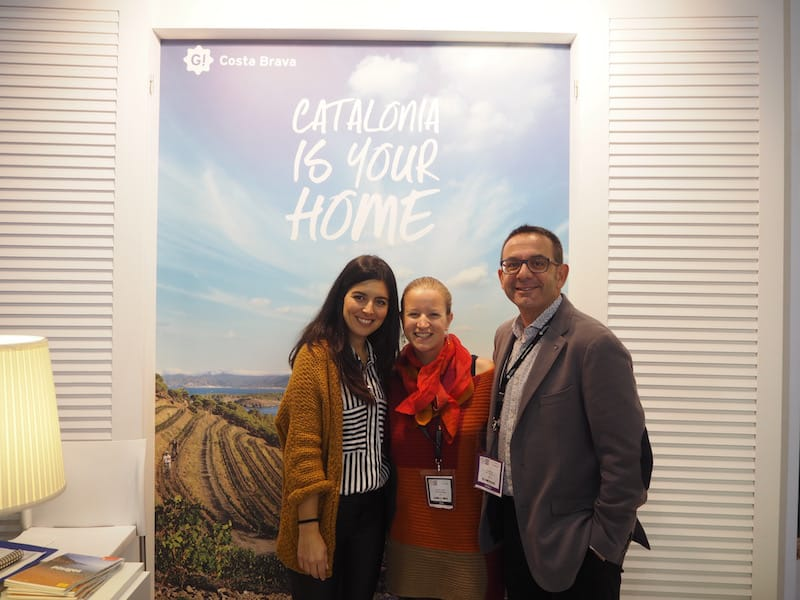 ... and THANK YOU - Moltes gràcies, dear Jaume, dear Gemma, for our meaningful and engaging project talk about creative travel #inCostaBrava next year ! So excited to be working with you soon again !!