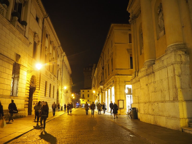 ... leading a way forward (this picture, by the way, shows beautiful Vicenza, near the cities of Padua & Venice at night) ...