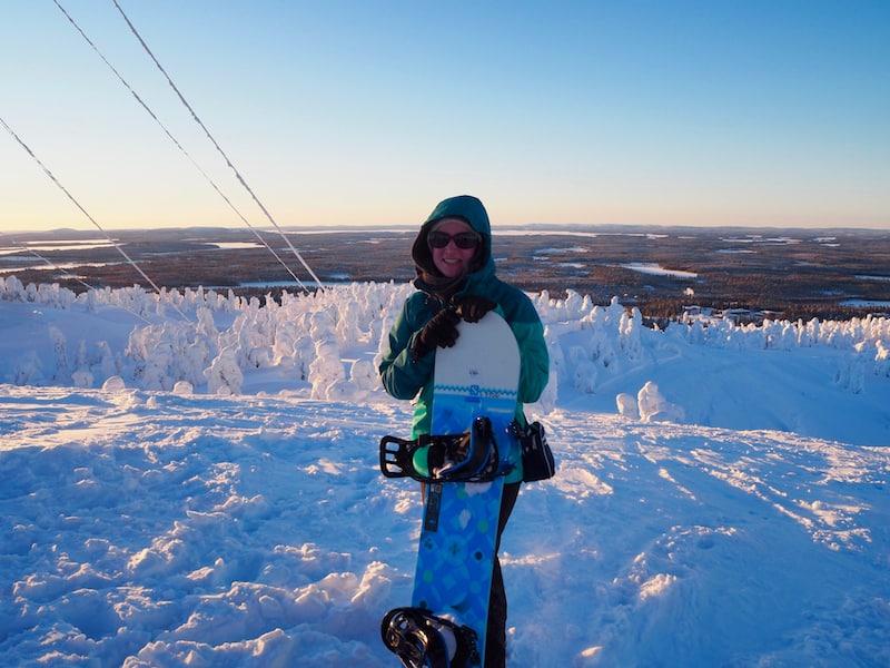 Da habt Ihr's. Noch vor knapp einem Jahr habe ich nicht einmal im Traum (bzw. hier in Finnland!) daran gedacht, wieder Ski zu fahren. Me & my board? Unzertrennlich. Auch im Ausland. Dachte ich. Eigentlich.