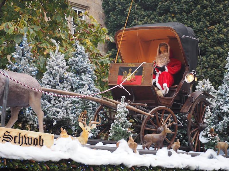 ... und hier ist er, der Favorit unter all den Dächern am Stuttgarter Weihnachtsmarkt aktuell!