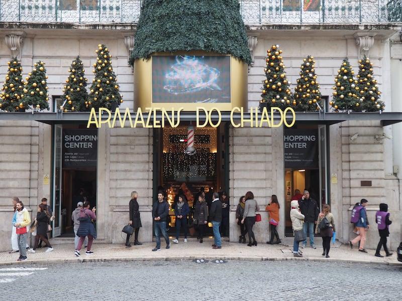 Weihnachtsstimmung pur in Lissabon ...