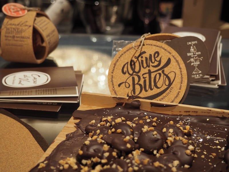 """Parallel dazu sorgt natürlich auch die richtige """"Wein-Schokolade"""" für die nötige Stimmung unter den Gästen ..."""