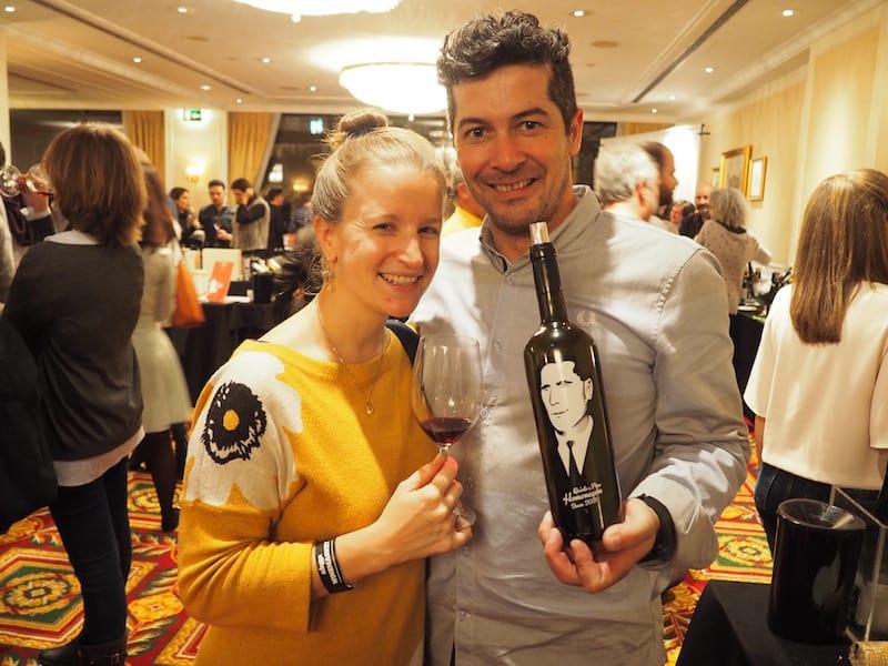 ... und den Winzer Stéphane Ferreira vom Weingut Quinta do Pôpa im Douro-Tal, dem ich verspreche, eine der nächsten Weinreisen in Portugal zu ihm zu planen ..!