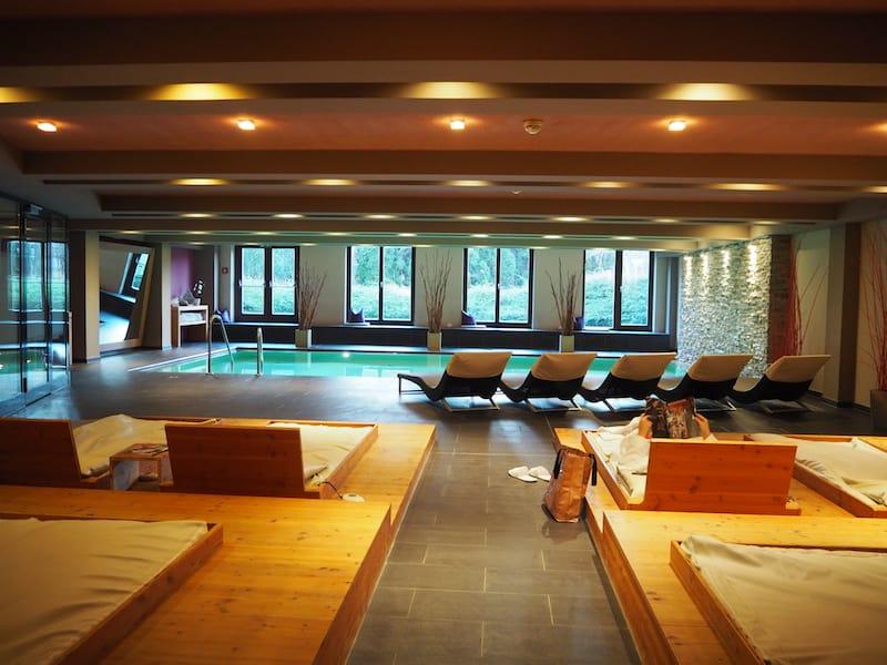 Mein Nächtigungs-Tipp zu guter Letzt: Das Mavida Sport- & Wellness-Hotel, welches ebenfalls zu den Casino Hotels in Zell am See zählt und über einen ausgesprochen schönen, modernen Wellnessbereich verfügt ...