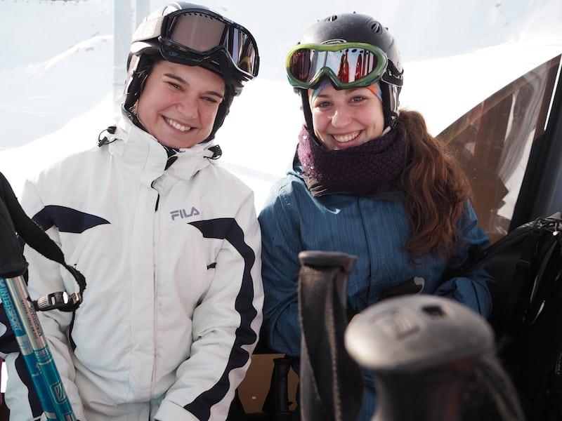 Ist es nicht doch ein bisschen Hochverrat, nach so vielen stolzen Snowboarders sich den ... Skifahrern anzuschließen?!