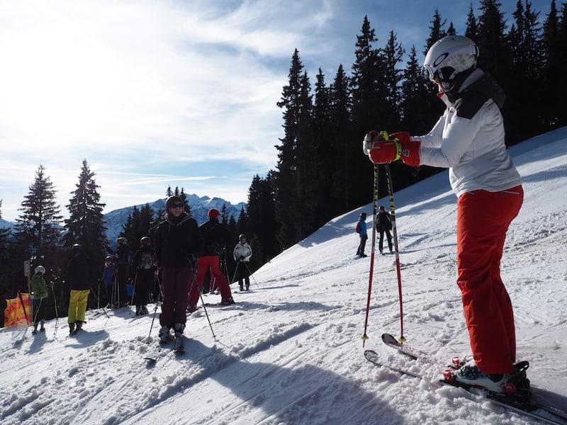 Vielen Dank, liebe Ursula Auer vom Hotel Restaurant Feinschmeck, für die Begleitung während dieses herrlichen Skitages auf der Schlittenhöhe ...