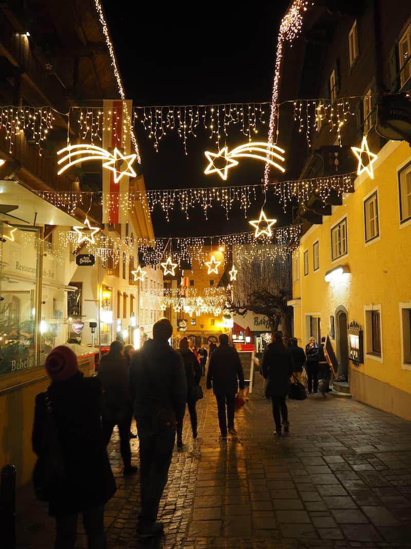... überhaupt ist der weihnachtliche Stadtspaziergang in Zell am See wirklich zu empfehlen.