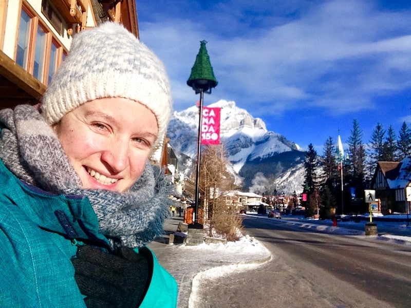 Good morning, Banff !!! OMG, I am back. So cold. So beautiful!