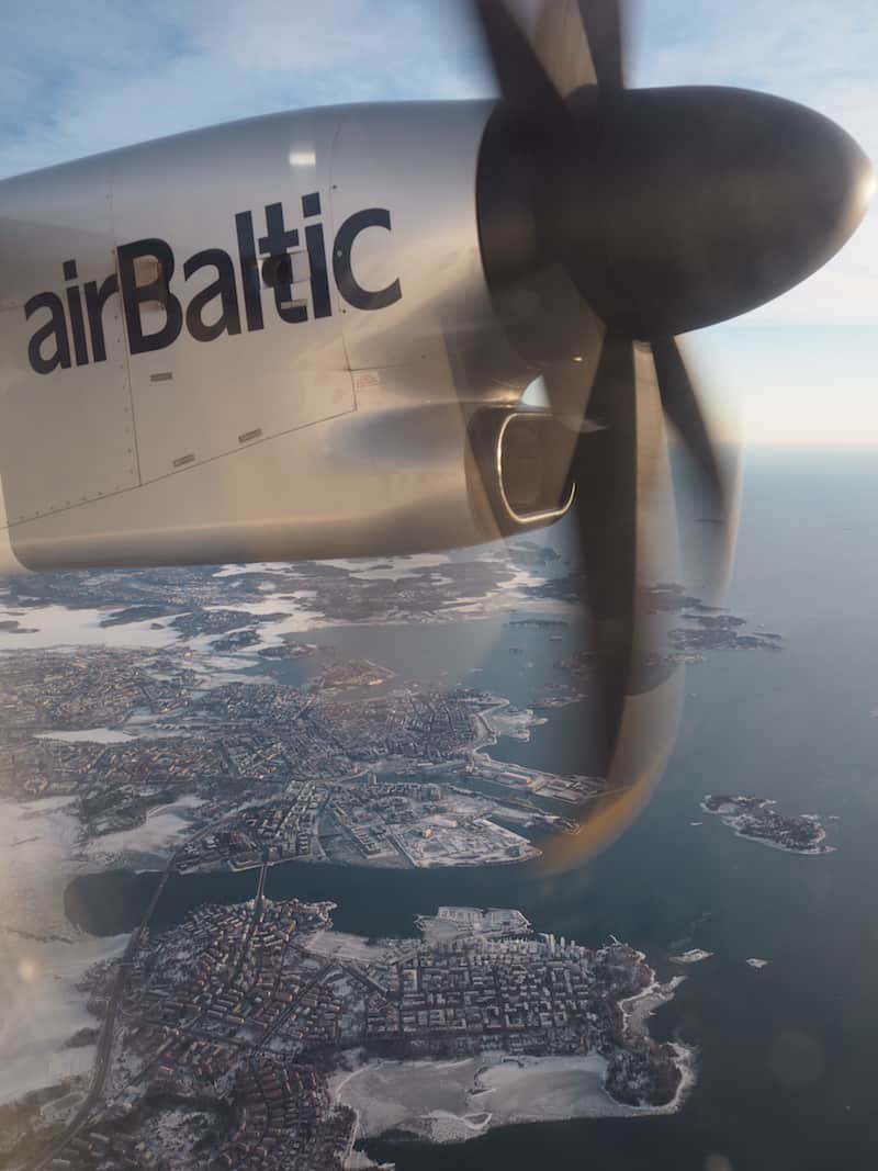 Riga: The hub of Air Baltic's well connected network in (North)Eastern Europe.
