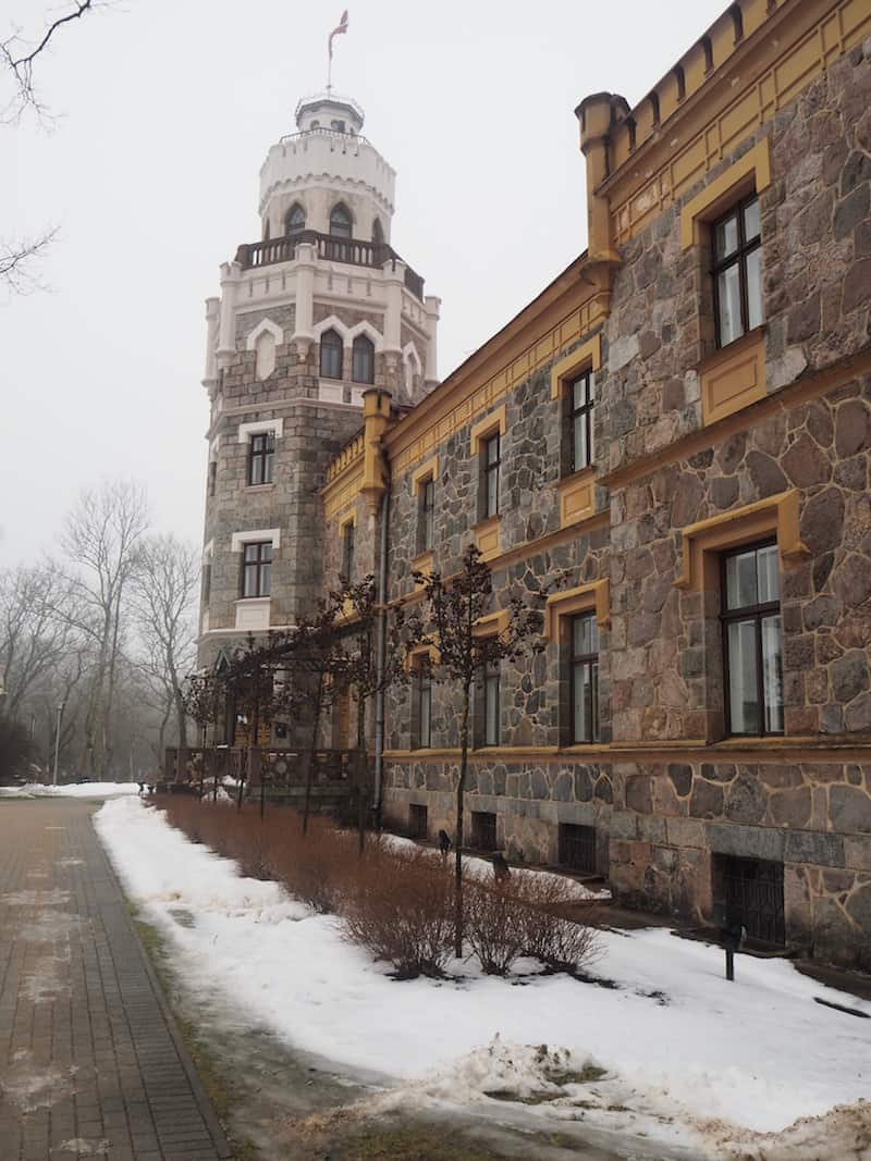 Outside of Riga, Sigulda Castle ...