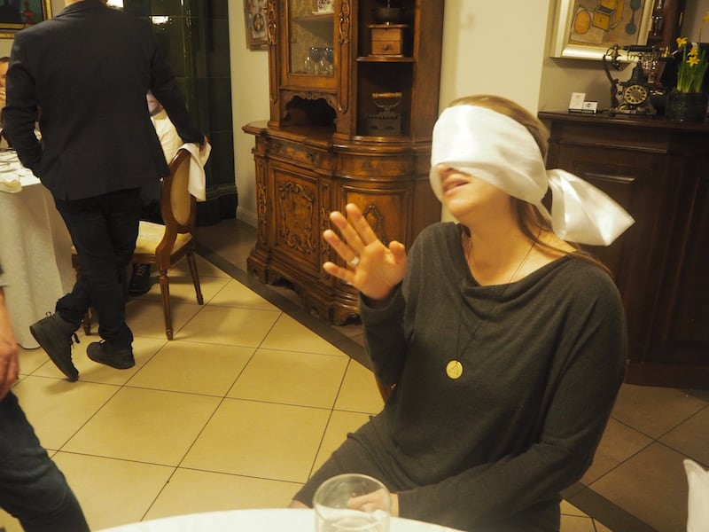 In the blind-fold tasting experience that follows, I beat my friend Dave by far ...