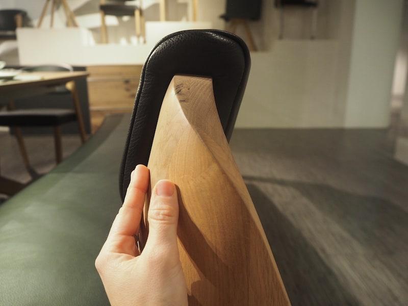 Von Anfang an: Auf Tuchfühlung mit dem schönen Holz ...