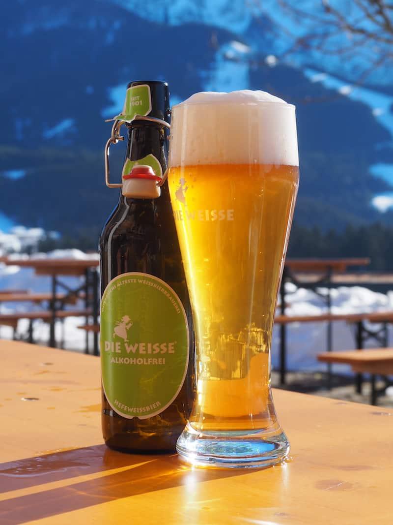 Nur ein Bier kann jetzt die Stimmung NOCH besser machen ...