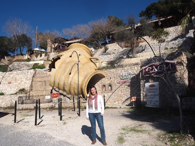 ... und so kann ich Euch diese typische griechische Landhaustaverne nur empfehlen: