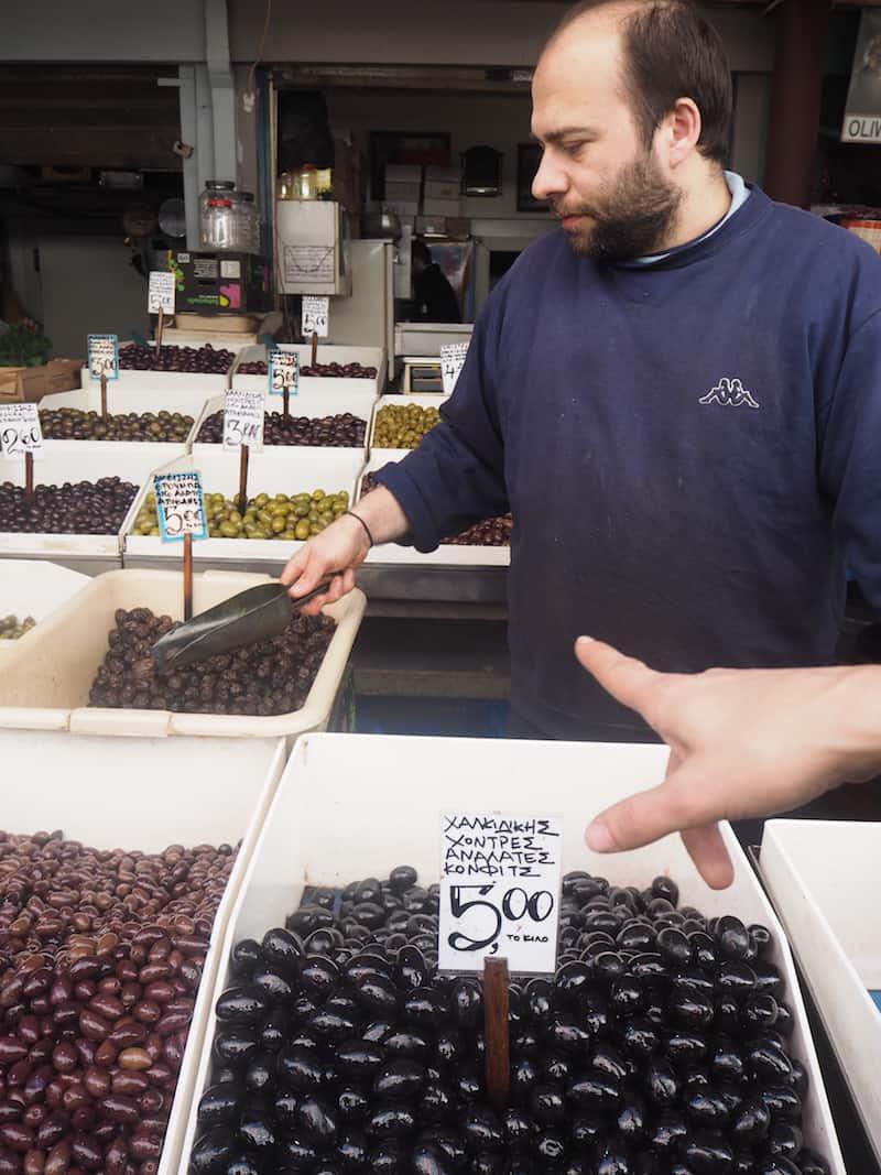 ... noch mehr von den Oliven, bitte!