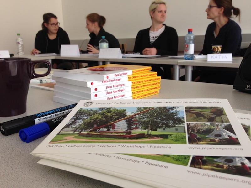... mein Buch als Unterrichtsmaterial für meine Studentinnen an der FH Joanneum in Bad Gleichenberg einzusetzen ...