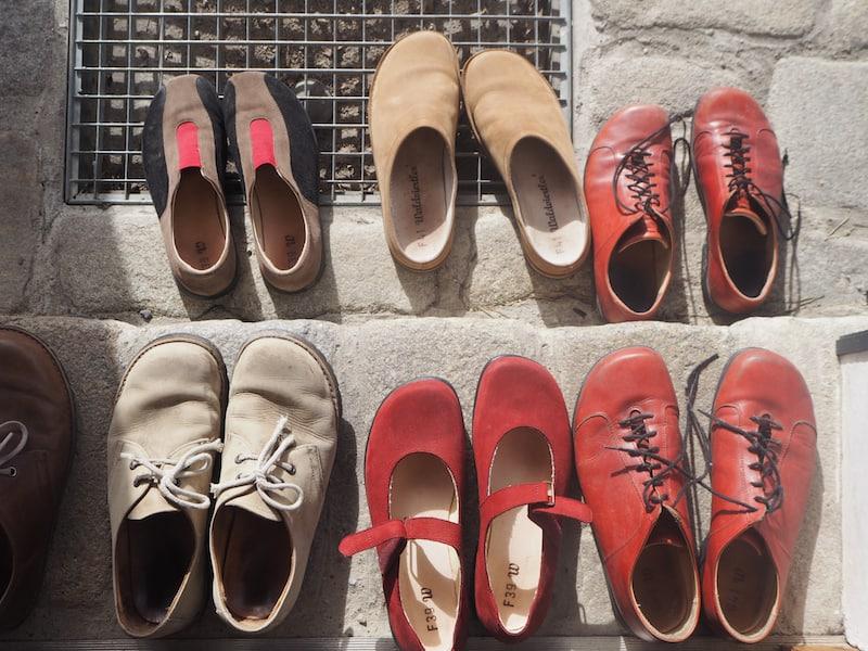 """... der Blick auf den Boden (Waldvierter Schuhe sind das Maß aller Dinge!"""") ..."""