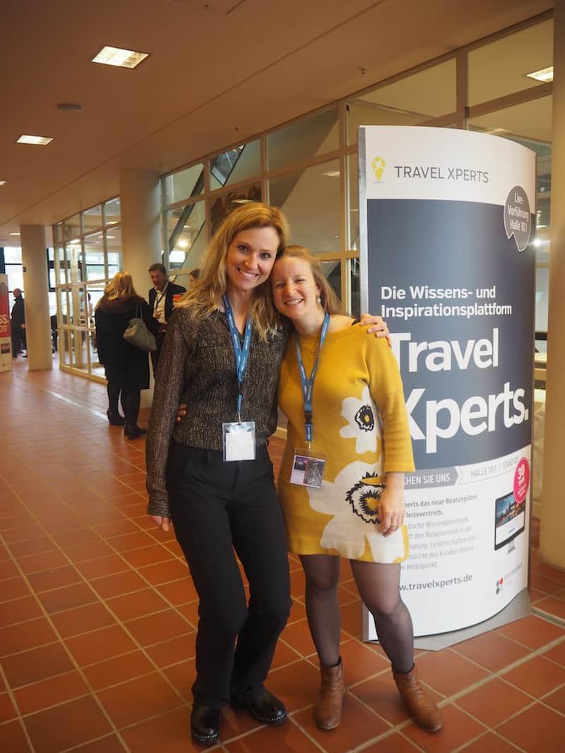 ... ein besonderes Anliegen war es mir diesmal, die extra aus den USA angereiste Kristi Dale, ihres Zeichens Netzwerkerin für Kreativ Reisen weltweit, endlich persönlich kennen zu lernen ...