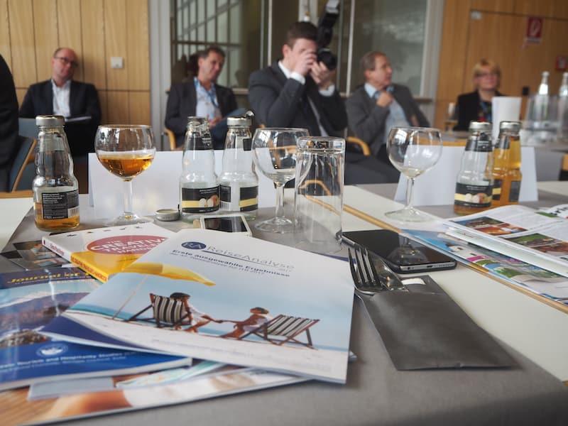 ... via Pressekonferenz Kreativ Reisen Österreich zum Ausdruck gebracht ...