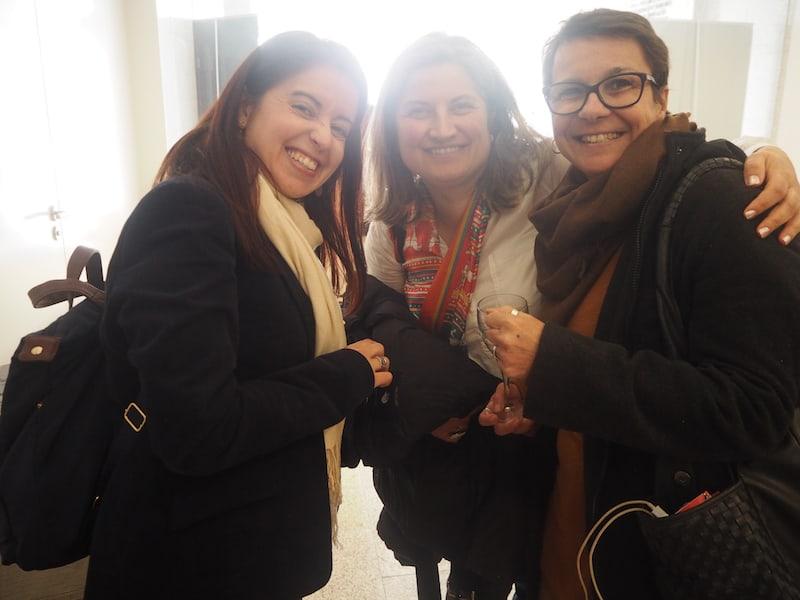 ... treffe ich erneut auf meine lieben Freunde aus Portugal, wie beispielsweise Rita Branco hier ganz rechts ...