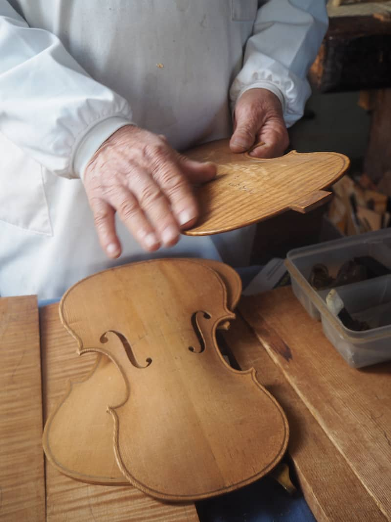 Each and every nook & cranny of his workshop is familiar to 84-year-old Senhor Capela, as he demonstrates us ...