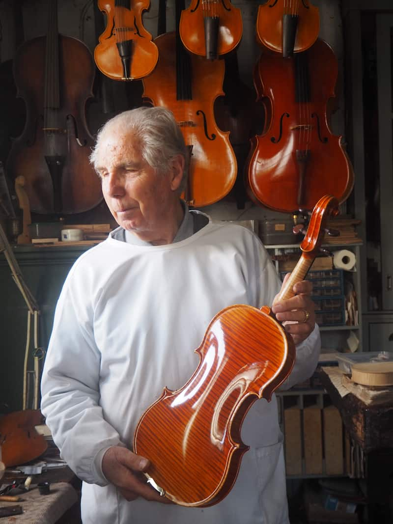 ... a life-long career in making world-class violin instruments of all kinds.