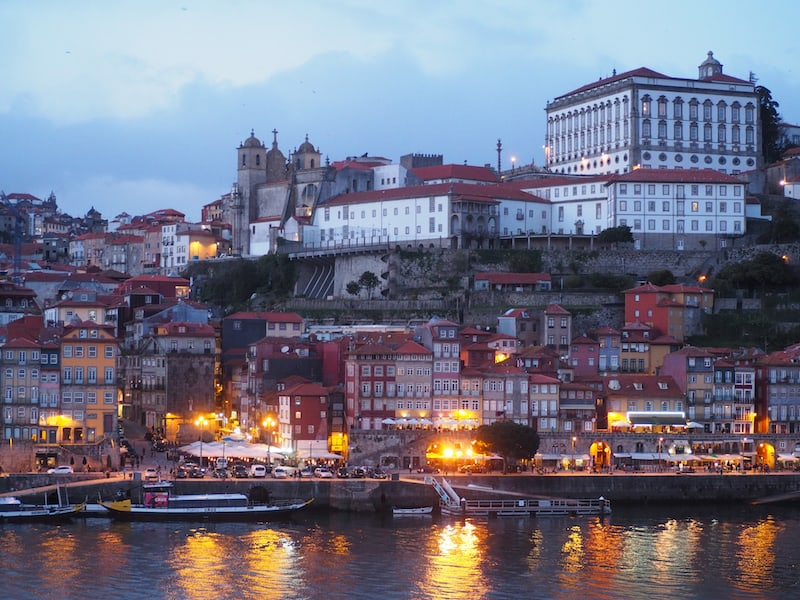 "... in a place called ""Porto Cruz"", which offers wine tastings, a wonderful restaurant experience, as well as stunning views over the old town of Porto from its lounge area on the upper floor along the Douro river."