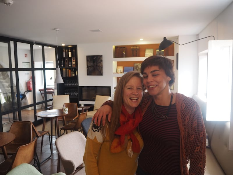 Arco das Verdades for a wonderful catch-up (and tasting!) opportunity with my friend Melanie ...