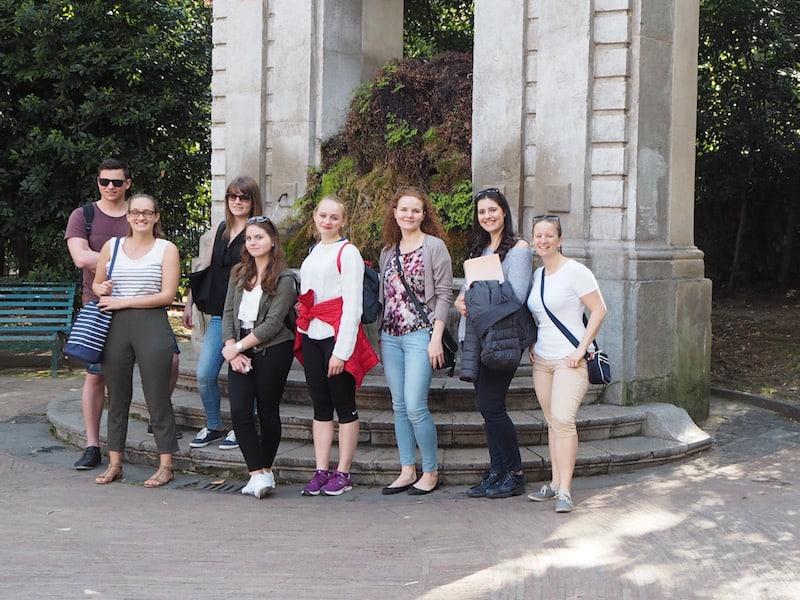 """Unterwegs mit meinen neuen KollegInnen von der Sprachschule """"L'Accademia Italiana di Salerno"""" ..."""
