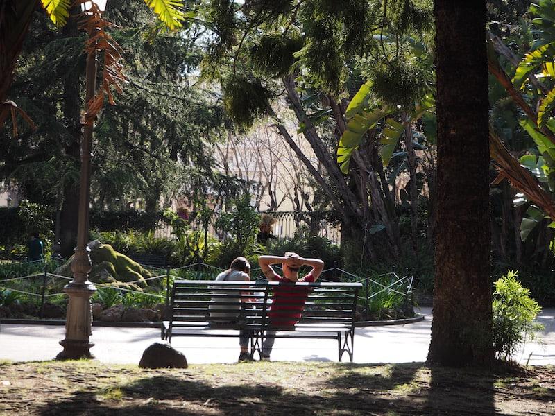 ... vom Dolce Far Diente lassen auch wir uns bald treiben bzw. anstecken, die Schule bietet viel Freizeit und spannende Ausflugsmöglichkeiten in die nähere Umgebung.