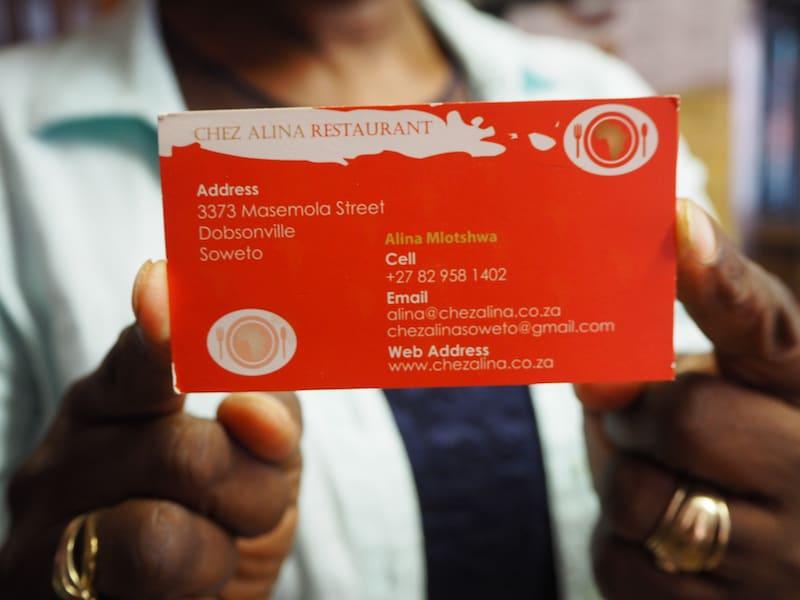 ... eine wahrlich spannende Adresse für Euren nächsten kulinarisch-kulturellen Besuch in Soweto ...