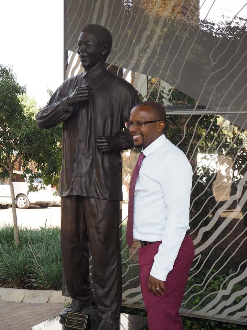 Vielen Dank für diesen unvergesslichen Besuch, lieber Sello Hatang & Team der Nelson Mandela Stiftung!