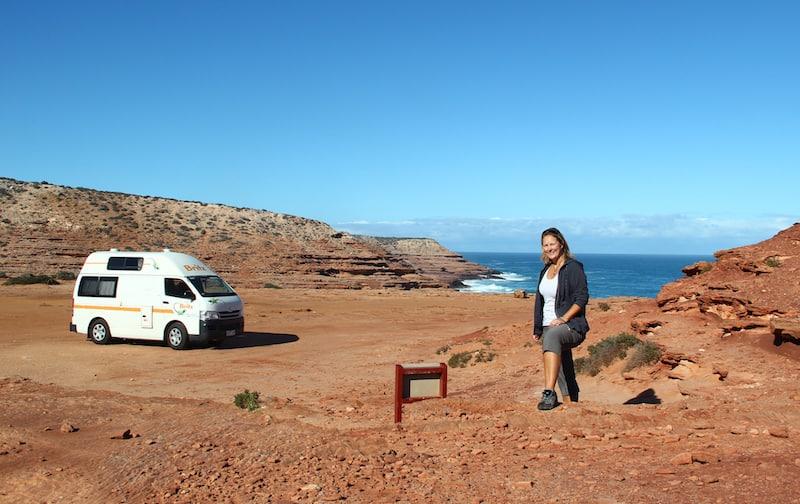 Angelika Mandler, unterwegs mit dem Campern in Australien!