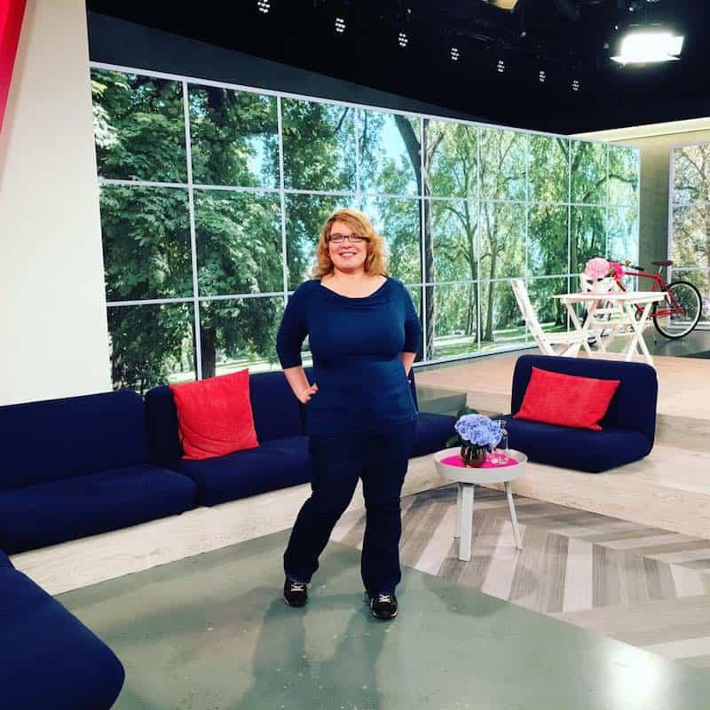 Janett vor kurzem zu Gast im deutschen Fernsehen: Herzlichen Glückwunsch, Janett + Teilzeitreisender.de!