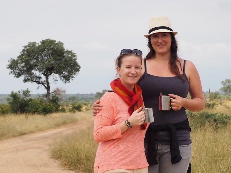 """... mit """"Best Safari Buddy"""" Christina Leutner an meiner Seite ..."""