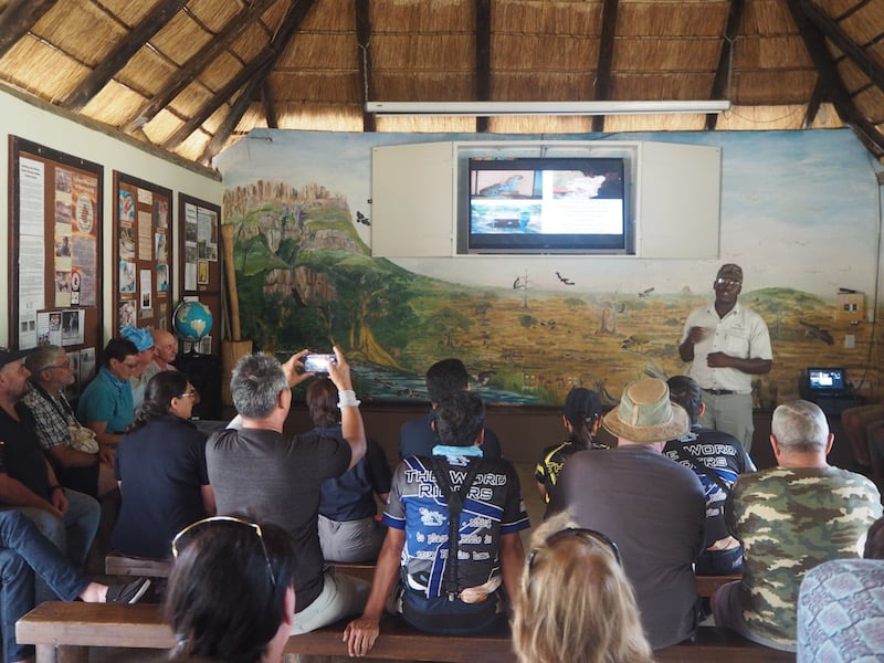"Oscar, a great speaker, guide & passionate environmentalist, ""edutains"" us about wildlife in (South) Africa ..."