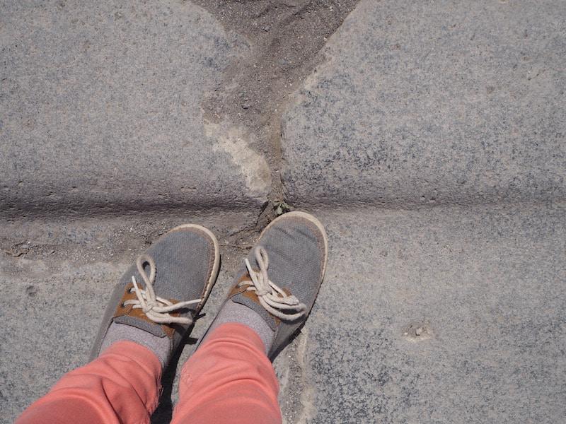 ... heute wandeln wir in den Spuren uralter Fahrrinnen ...