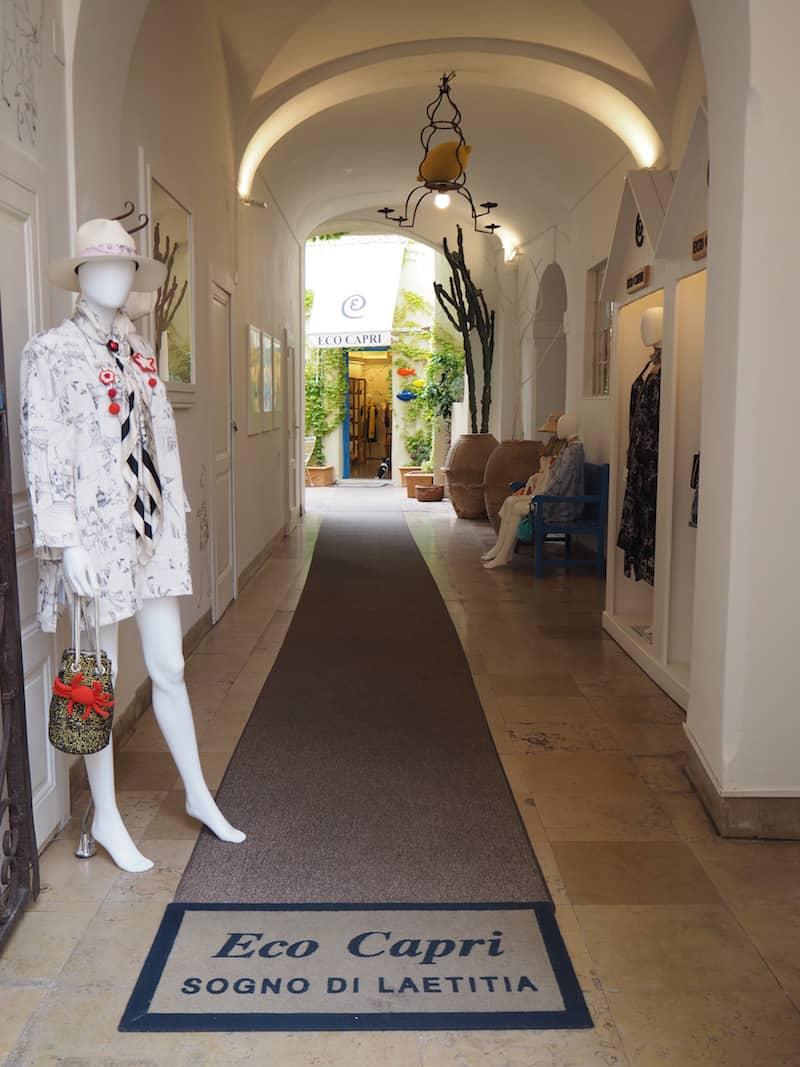... dem Ruf schöner kleiner Einkaufsstraßen folgen ...