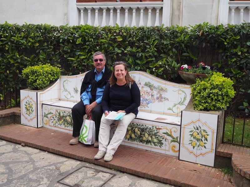 ... und mitunter auch, ganz für sich : Unterwegs mit meinen lieben Eltern auf Capri!