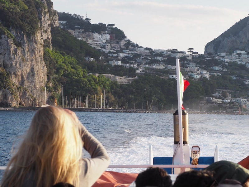 Ciao e arrivederci Capri ...