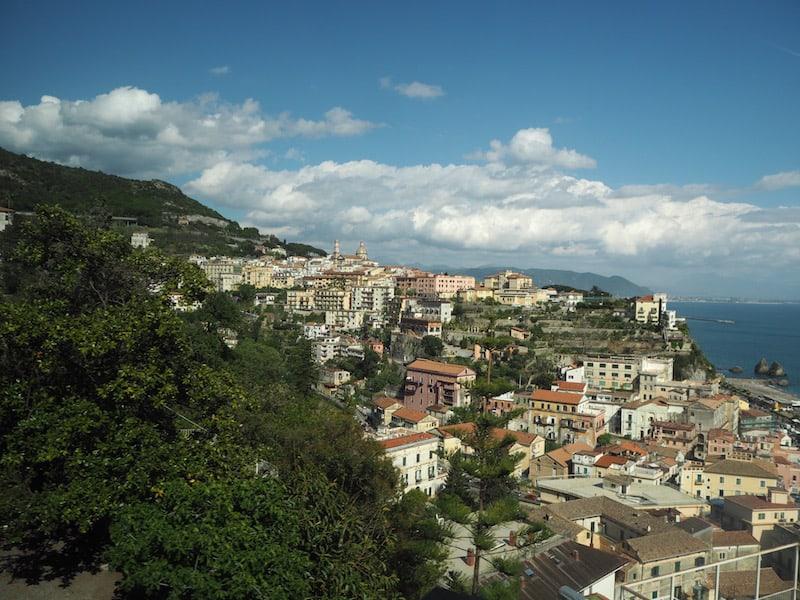 ... die hier kurz vor und bis nach Vietri sul Mare angelegt sind.
