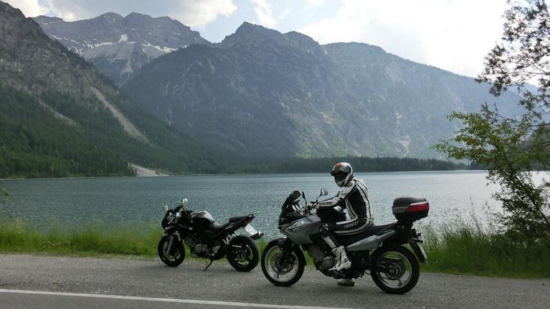Motorrad-Tour in den Ammergauer Alpen!
