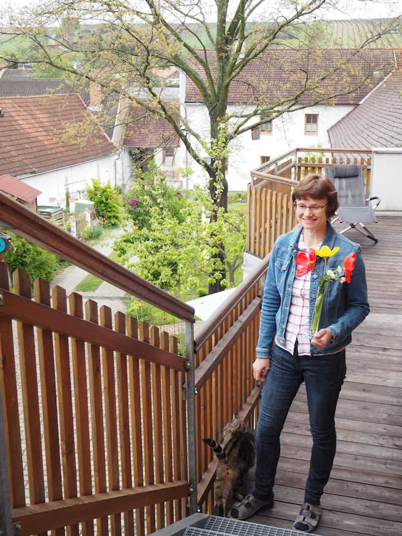 Willkommen in Herrenbaumgarten, auf dem Hof der Familie Bohrn ...